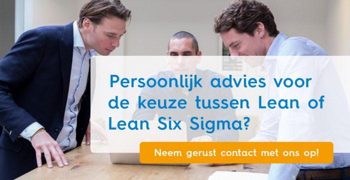 persoonlijk advies lean six sigma